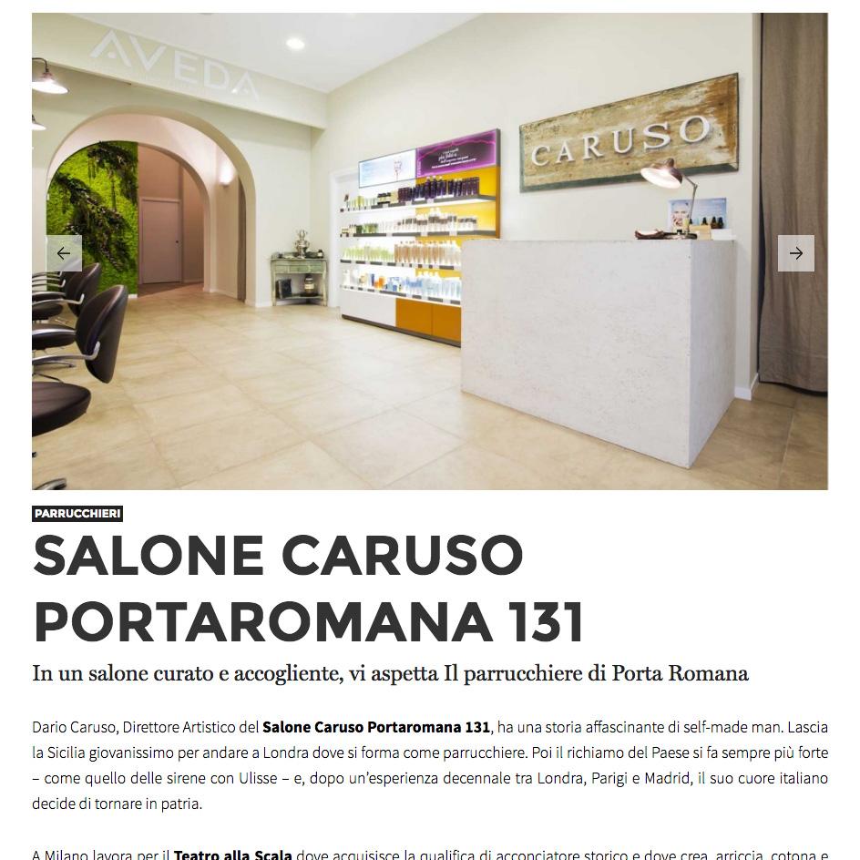 Dicono di noi pagina 2 caruso porta romana 131 - Caruso porta romana ...